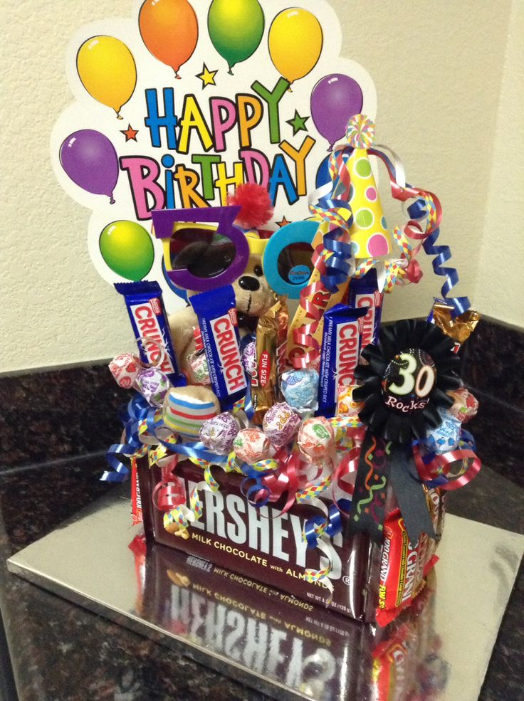 It's your Happy 30th dirty bday and what a way to go wit all of your favorites sugar rush.
