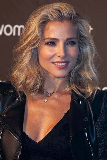 Elsa Pataky-Fierce Medium Length Hairstyles l www.sophisticatedallure.com