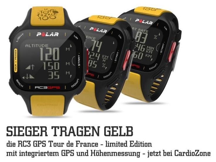 POLAR RC3 GPS TOUR DE FRANCE (Limited Edition) mit