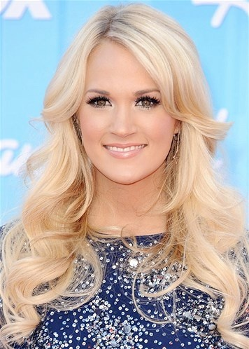 Carrie Underwood White Shadows Makeup I would do something natural for my wedding makeup just like Carrie Underwoods makeup