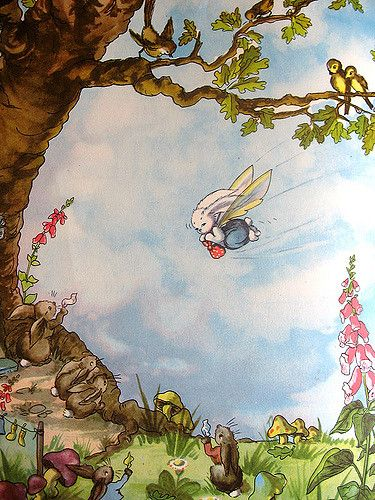 flying pookie | from 'pookie and the gypsies' by Ivy L Walla… | ingrid | Flickr