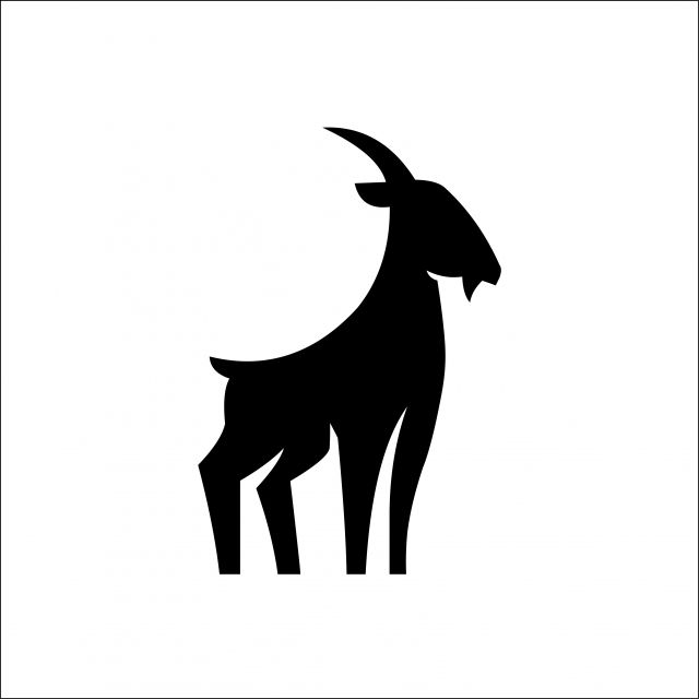 Goat Silhouette Logo Vector Template Sheep Clipart Black And White Logo Icons Template Icons Png And Vector With Transparent Background For Free Download In 2021 Goat Logo Vector Logo Logo Icons