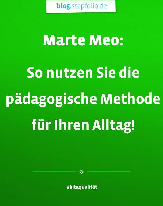 Was hat es mit Marte Meo auf sich? Antworten liefert Dr. Christian Hawellek, Leiter des Norddeutschen Marte Meo Instituts auf dem stepfolio-Blog. #MarteMeo #KitaQualität #Kindergarten #Interaktion #Pädagogik