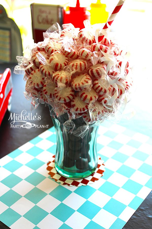 Candy Centerpiece Uk : Best s party images on pinterest retro