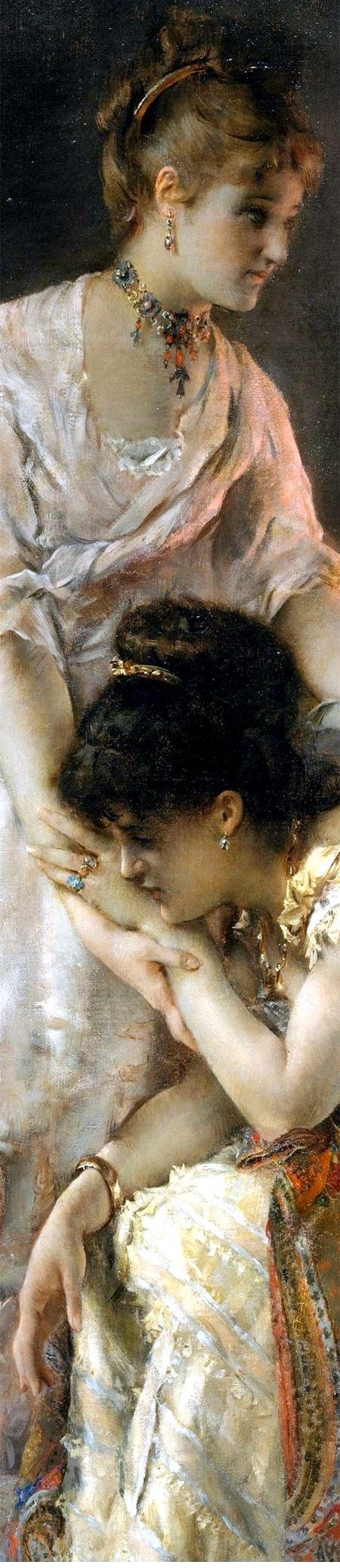 After the Ball by Alfred Stevens. @@@.....http://www.pinterest.com/solvilchez/a-r-t-~-e-m-o-t-i-o-n-s/