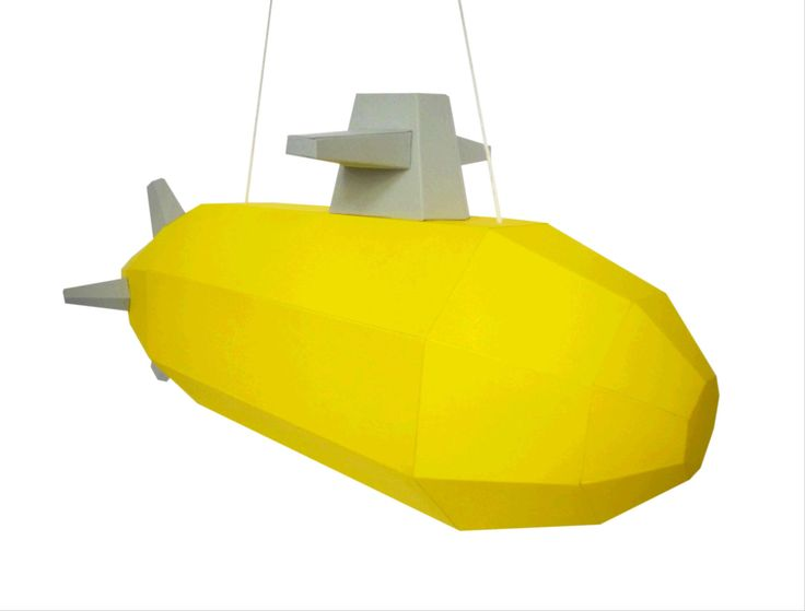 Yellow+SUBMARINE+Staňte+se+kapitánem+žluté+ponorky.+Upozornění+!!!+Ponorka+není+vhodnápro+hloubkové+ponory.++Budete+potřebovat:+nůžky,+lepidlo,+pravítko,+trochu+času+a+trpělivost+Obtížnost:+střední+Velikost+:+30x16x16cm+Obsah:+16+dílů+-+instrukce+-+provázek+Pro+naše+3Dmodely+používáme+kvalitnístálobarevné+papíry+s+vysokou+gramáží.