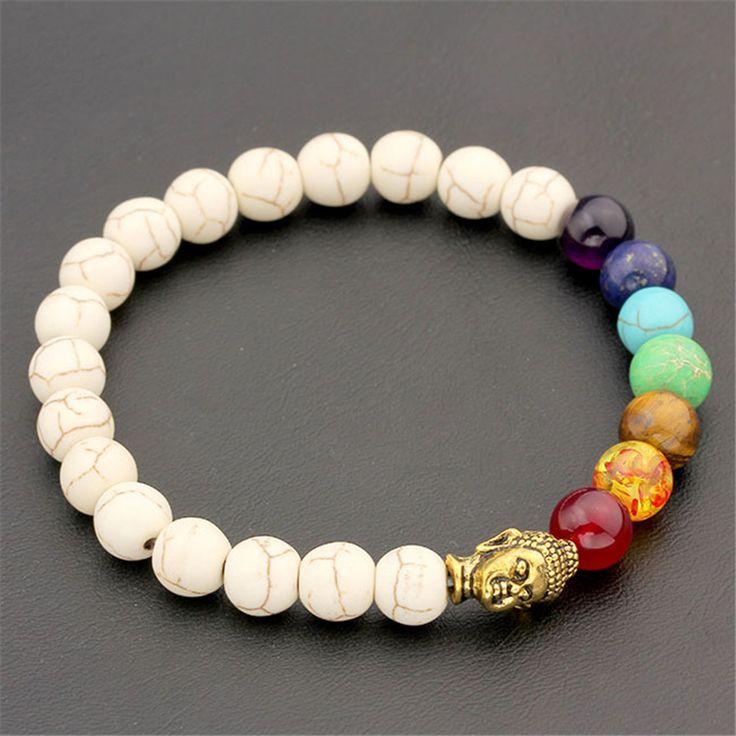 8mm Lava Beads Yoga Bracelet - Red Hot Yoga Wear
