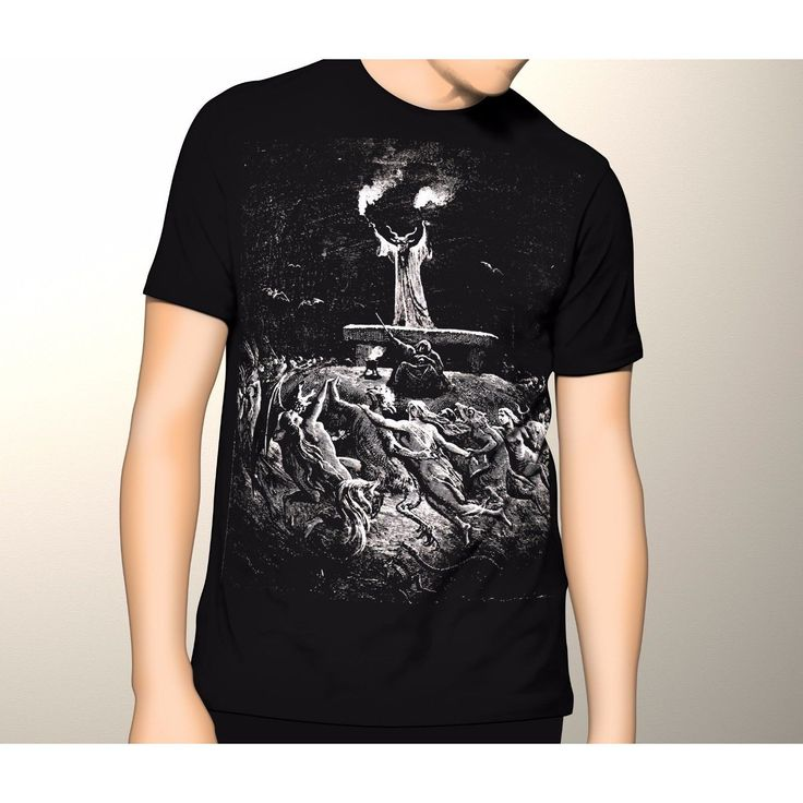 Welcome to Another Sabbath, Gustave Dore, Witches Sabbath Gothic Shirt