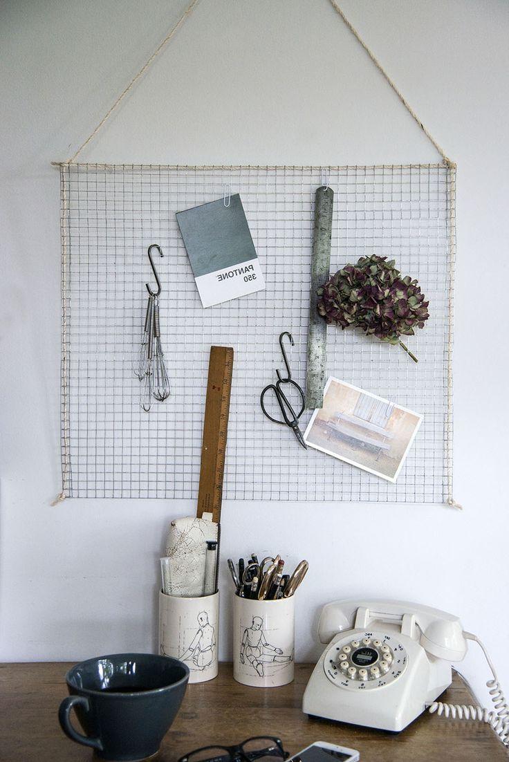 nie wieder etwas vergessen memoboard selber machen ordnung. Black Bedroom Furniture Sets. Home Design Ideas