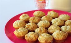 Three Ingredient Mini Muffins Recipe - After school snacks
