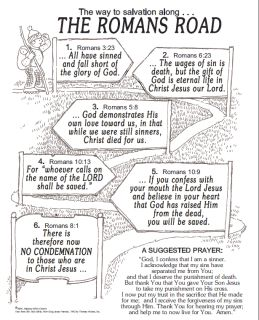 Roman Road to Salvation Printable | It's HERE! 21 Days of Prayer for Sons