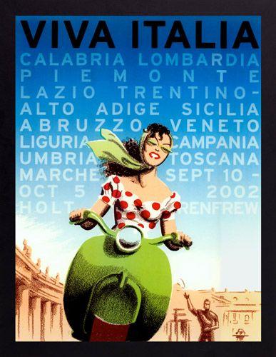 Italy · vintage canvasvintage