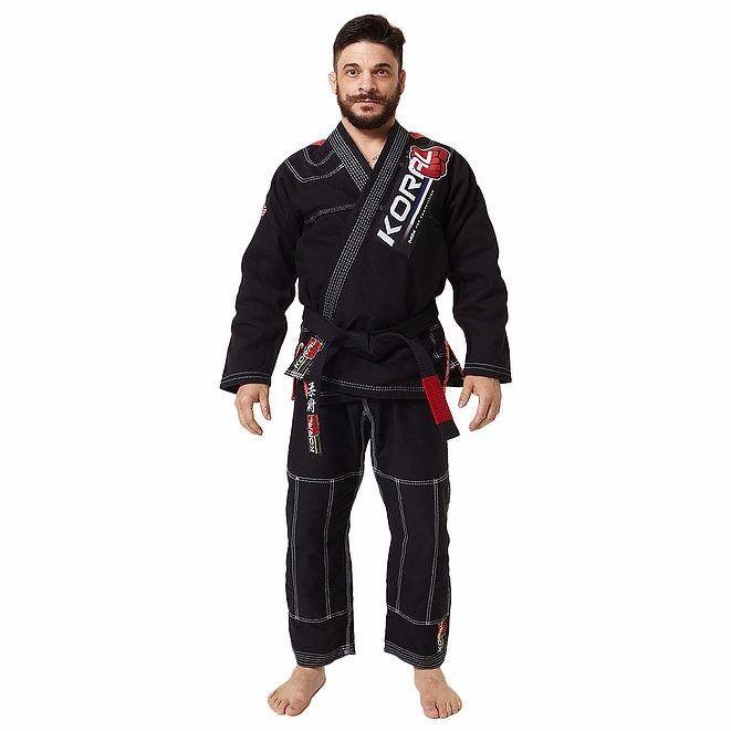 KORAL MKM Competition Jiu jitsu GI Black Jiu-jitsu Uniform BJJ Brazilian Brazil #Koral