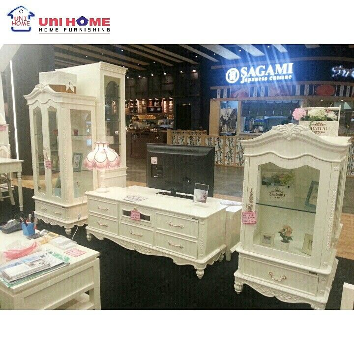 TV Entertainment King Series. Available at #unihomefurniture where we help create your perfect home ♥ in photo: Large Buffet - Tv Rack - Small Buffet
