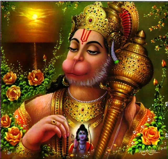 Hanumanji, The Most Powerful God of Every Indian.This god is also known as Bajarangbali. He is the symbol of good health and  body building.