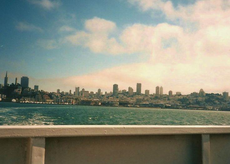 +Taking the Alcatraz Ferry