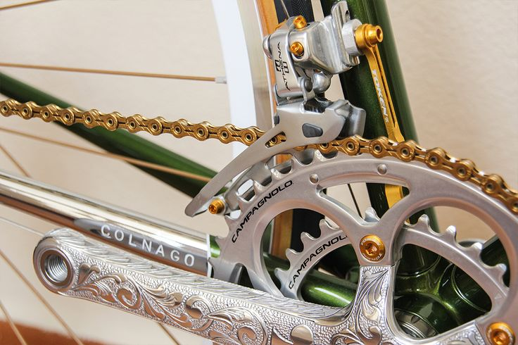 In The Lion City: The Engraved Campagnolo Colnago   Cycle EXIF