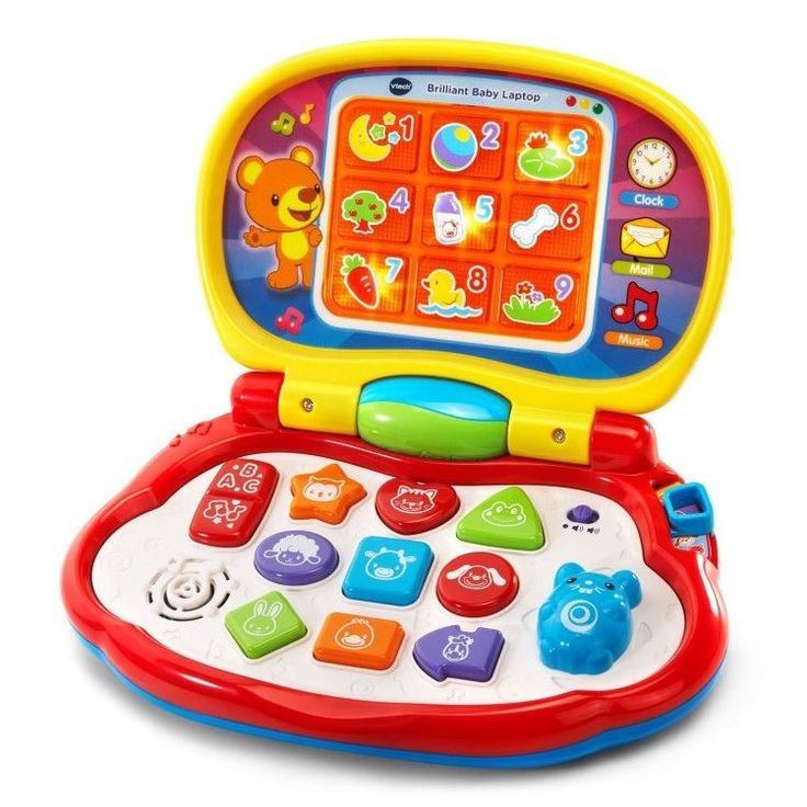 Educational Toddler Toy 6-36 Months Colorful Learning Playing Laptop Multicolor #easy_shopping08