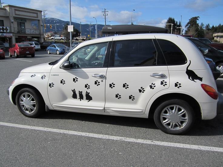 My new pt cruiser after i added the decals p t cruisers pinterest katte kaerlighed og smil