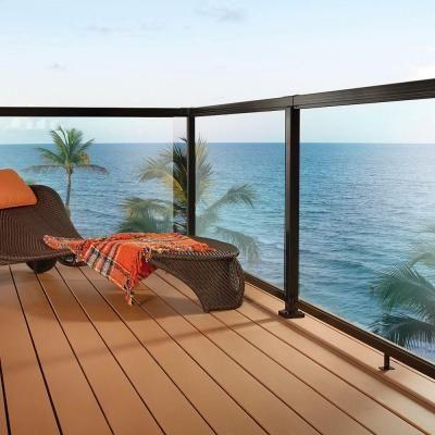 Die besten 25+ Aluminiumgeländer Ideen auf Pinterest Veranda - terrassen gelander design