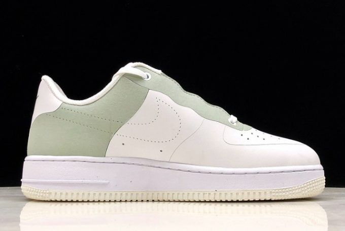 sports shoes cae83 7cc20 A-Cold-Wall x Nike Air Force 1 White Light Green On Sale-1