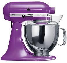 Purple Kitchenaid Bread Mixer
