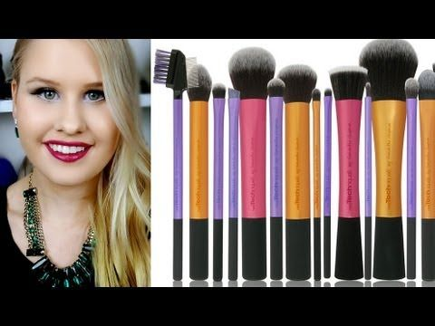 REAL TECHNIQUES BRUSHES REVIEW AND CHEAPEST PLACE TO BUY FROM!