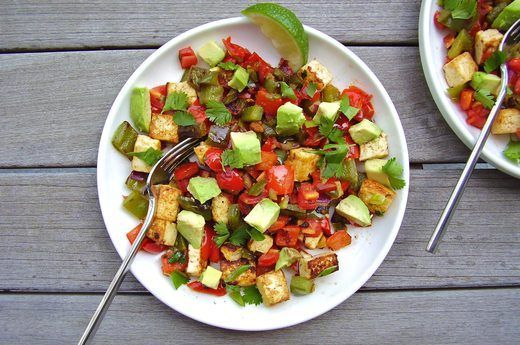 5. Tex-Mex Vegan Breakfast Hash