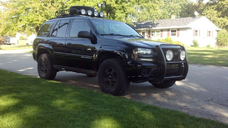 2002 Chevrolet Trailblazer 4x4 Lifted Blacked Out