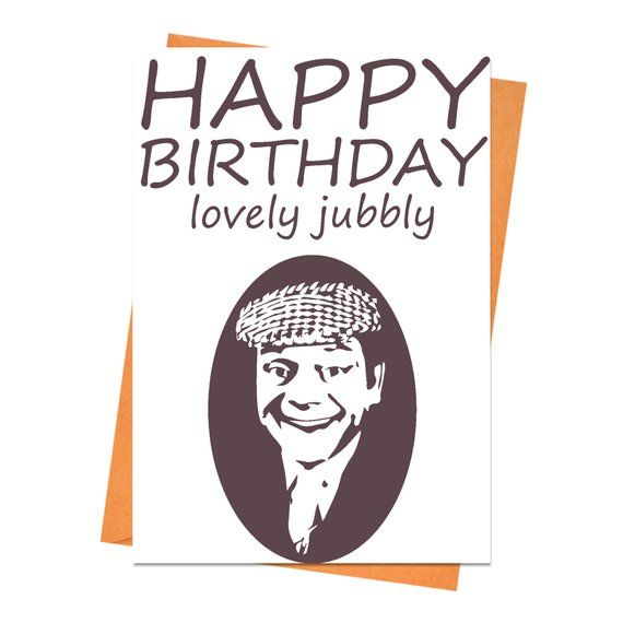 Funny Birthday Card Only Fools And Horses Birthday Card Etsy In 2021 Husband Birthday Card Happy Birthday Cards Printable Birthday Cards For Friends