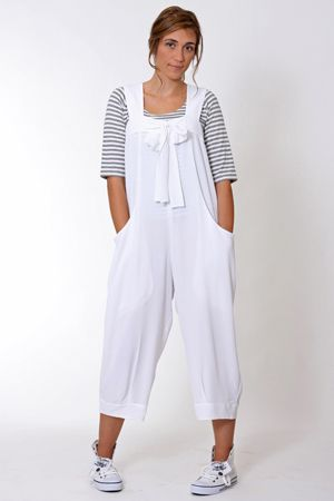 Funky, chic and fresh. The Cupboard's Jackie jumpsuit, seamlessly teamed with the striped Sandi tee and Levi Sequin shoe.