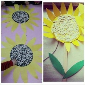 sun flower craft (2)
