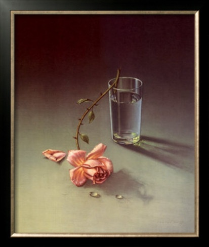 Weeping Rose by Vladimir Tretchikoff