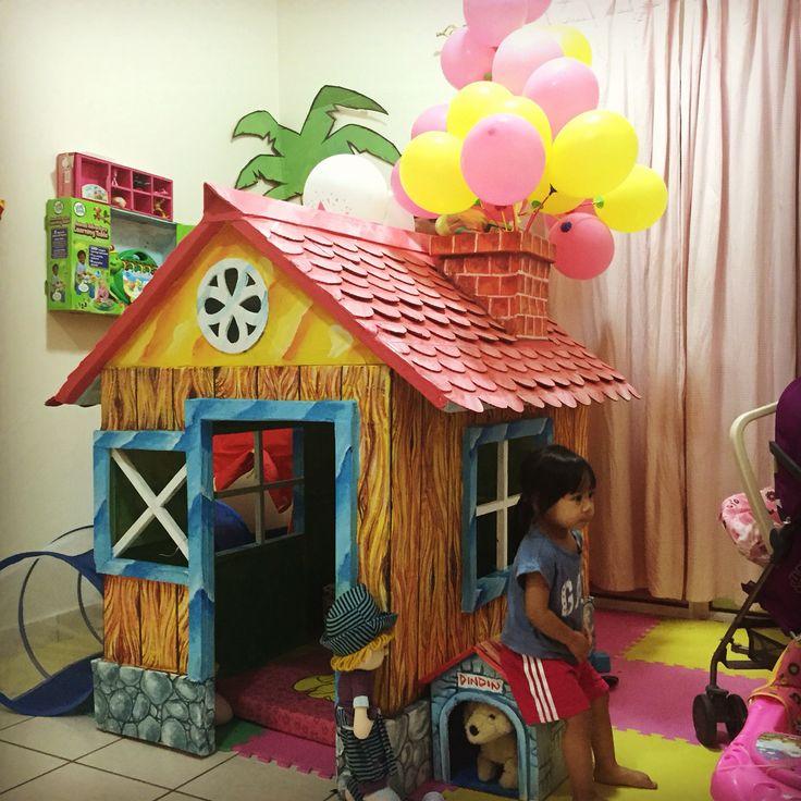 #UP #kartonproject #toddlerplayhouse