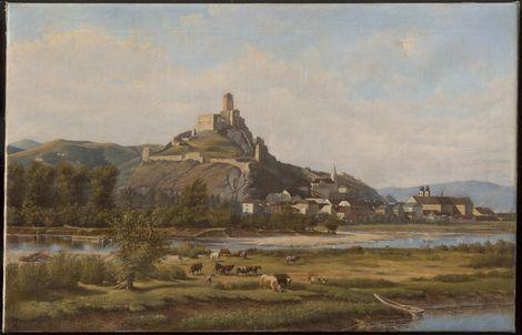 Artur Lieszkovsky, Landscape from Trenčín on ArtStack #artur-lieszkovsky #art