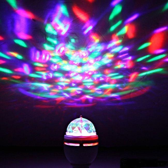 Lightahead LA005 Rotating LED Strobe Bulb for Party/Club/Bar - 2 Pack!