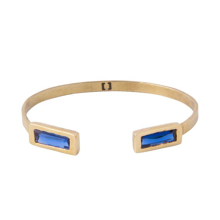 N-Bracelet in Blue Topaz