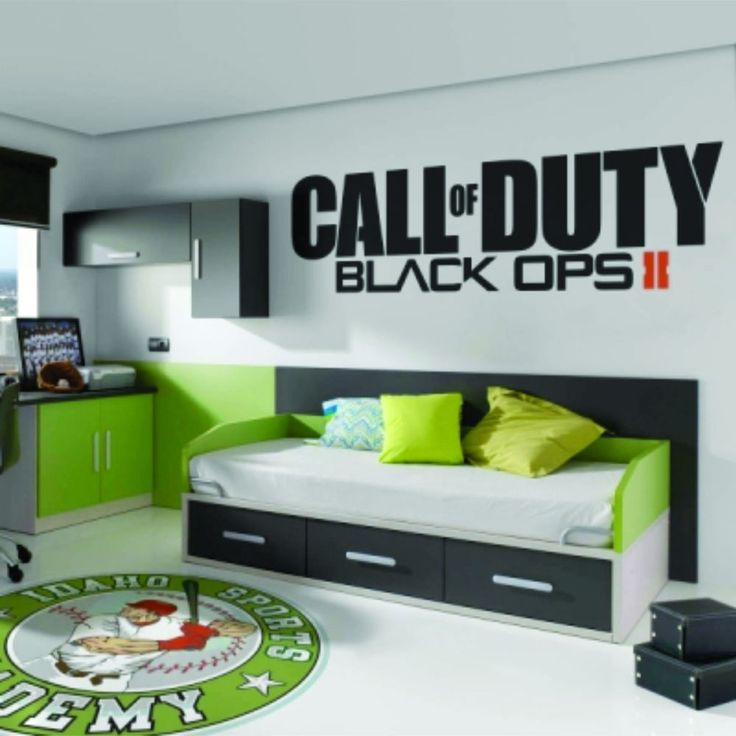 Call of Duty Black Ops 2 II Sticker Vinyl Decal Big - Brand New!