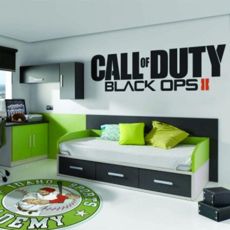 Call of Duty Black Ops 2 II Sticker Vinyl Decal Big - Brand New! in Decals, Stickers & Vinyl Art | eBay