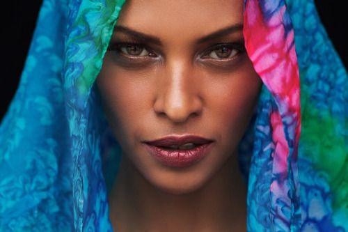 Somali model Yasmin Warsame