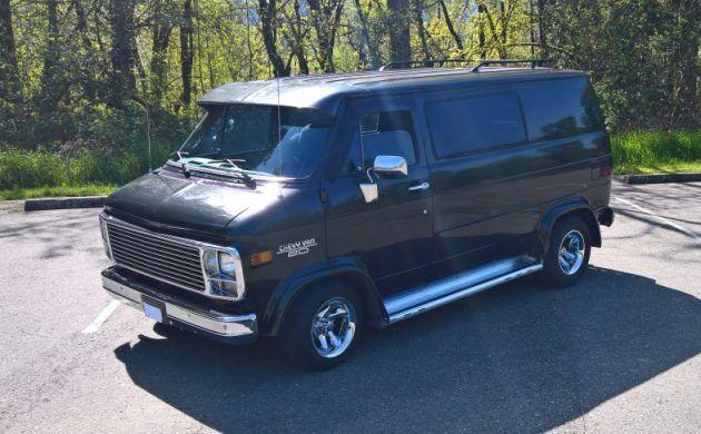 Exclusive 1979 Chevrolet G20 Shorty Van Chevrolet Custom Vans Vans