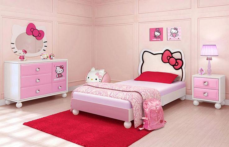pink childrens bedroom furniture - interior designs for bedrooms