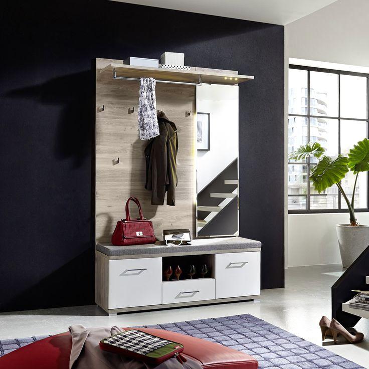 e-combuy Angebote Garderoben Set 2 tlg. PLASO258 weiß - Silbereiche Nachbildung: Category: Garderoben-Sets Item number:…%#Quickberater%