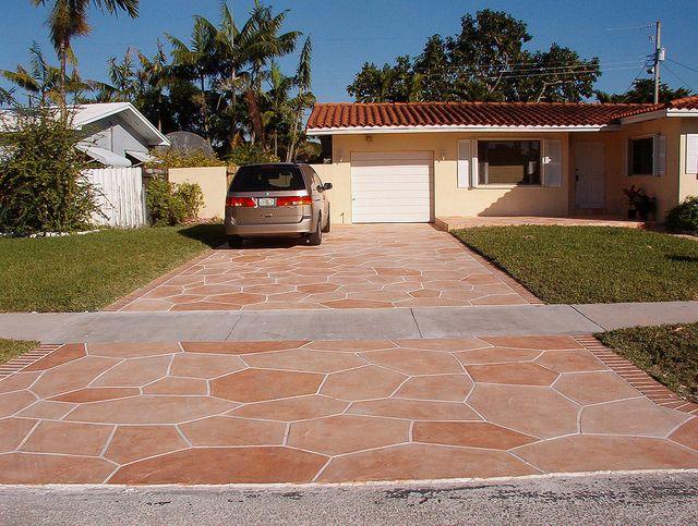 1000 images about euro tile concrete on pinterest euro for Tile driveway