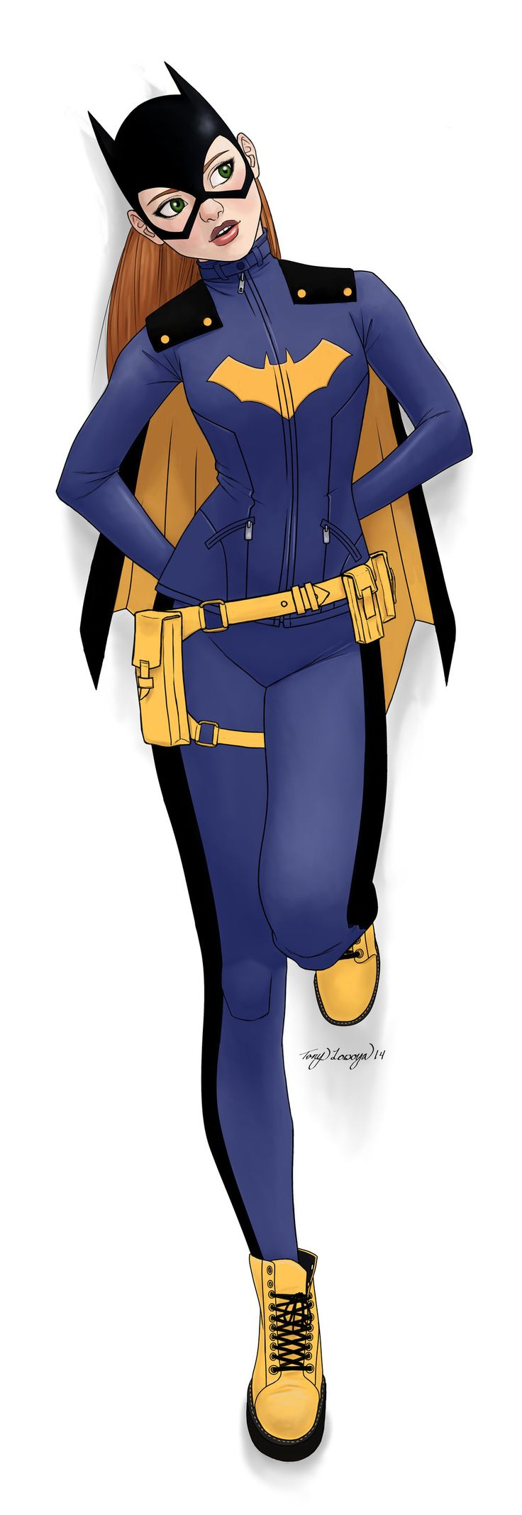 Batgirl! by Tono-x-Tono  https://www.electricturtles.com/collections