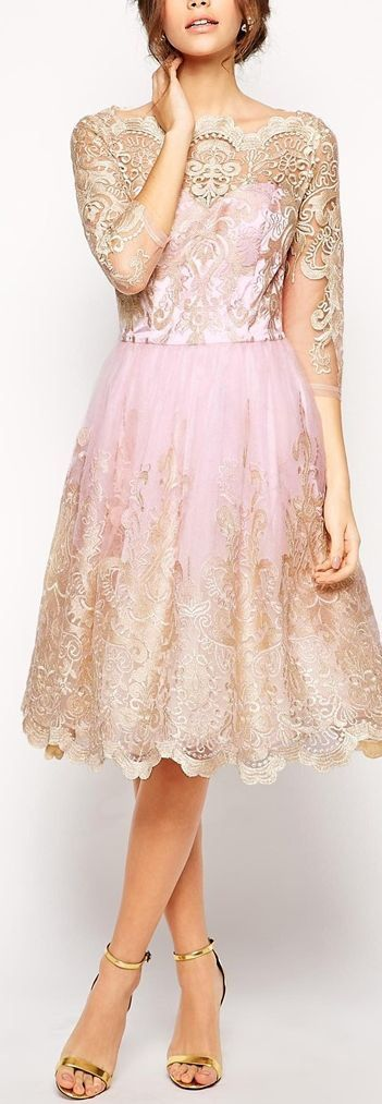10 Best ideas about Pink And Gold Dress on Pinterest - Light pink ...