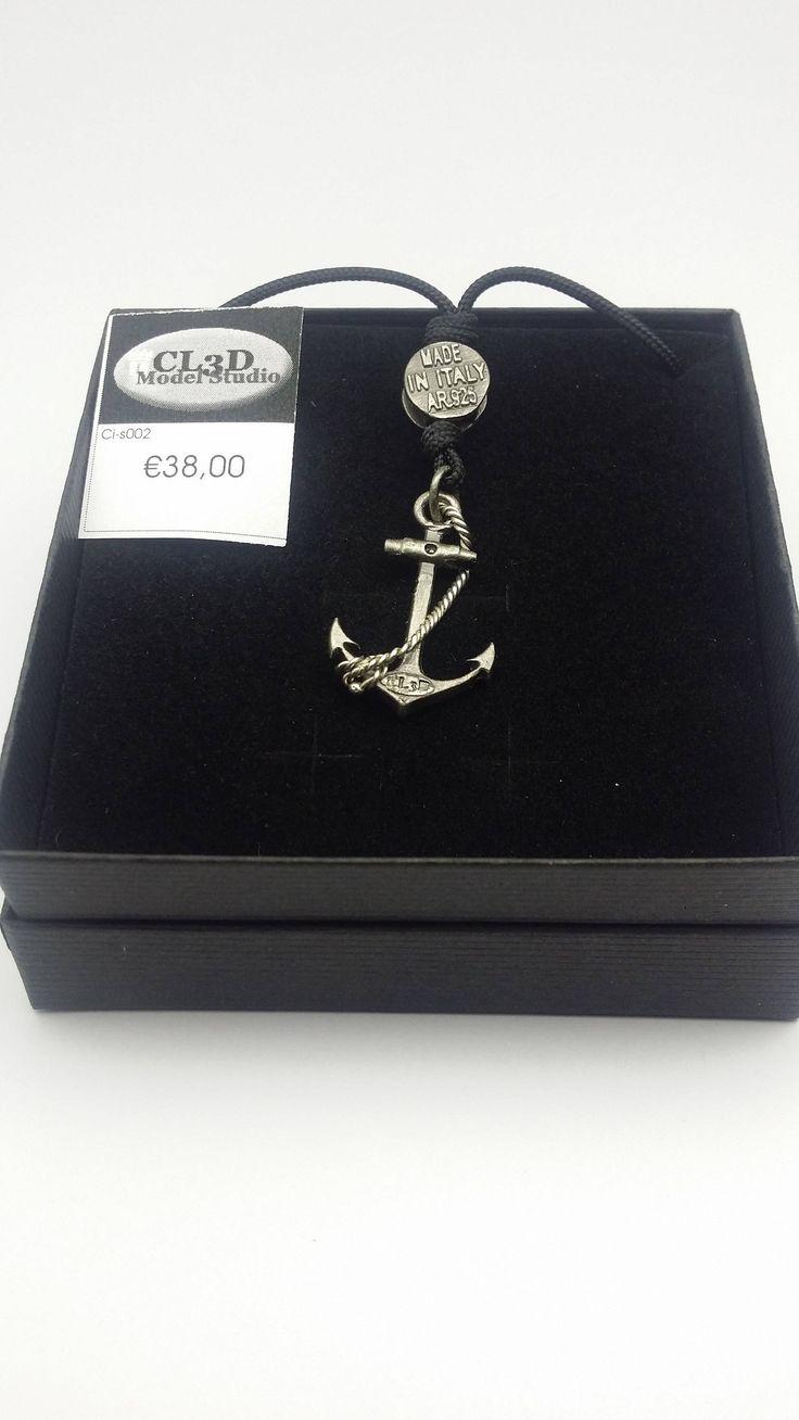 ancora pendente argento /   Still silver pendant di cl3dstudio su Etsy