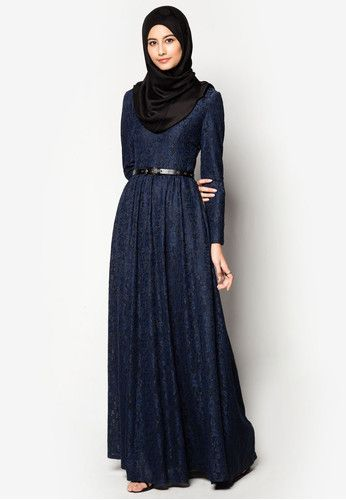 Lace Fit and Flare Dress by ZALIA - IDR 749.000