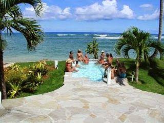 Caribbean vakantie: Naaktstrand Dominicaanse Republiek