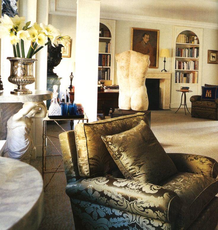 212 Best Images About Jacques Grange Interior Design On Pinterest Elle Decor Terry O 39 Quinn